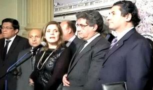 Reacciones por voto de confianza a gabinete de Fernando Zavala