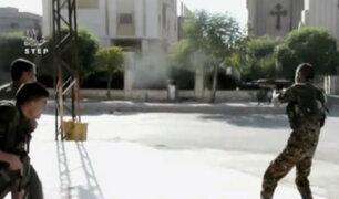 Siria: continúan bombardeos aéreos en ciudad de Hasaka
