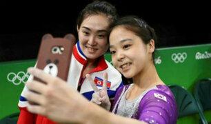 Río 2016: El selfie que desapareció 66 años de guerra entre las Coreas [FOTOS]