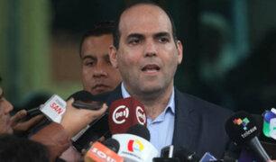 Fernando Zavala sustentó pedido de facultades ante Comisión de Constitución