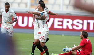 Universitario goleó 4-0 a Alianza Atlético en el Monumental