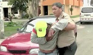 Trujillo: Chofer en estado de ebriedad intenta escapar de la policía