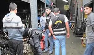 Independencia: Recuperan gran cantidad de autopartes robadas