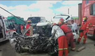 OMS: 1,35 millones de personas mueren en accidentes de tránsito al año