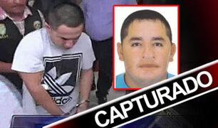 Tumbes: Capturan a peligroso delincuente acusado de sicariato