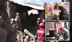 Arequipa: Damnificados viven terrible drama tras sismos en Caylloma