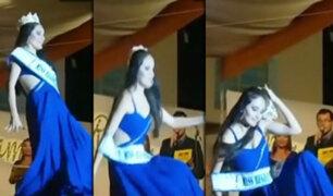 Chanchamayo: Bochornosa coronación de la Miss Junín 2016