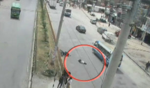 Huancayo: mujer fue arrollada por una motocicleta