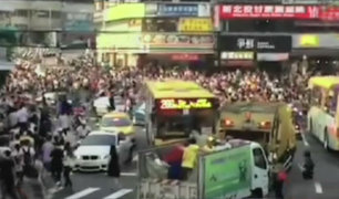 Taiwán: jugadores paralizan calle por aparición de Pokémon
