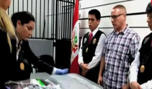 Aeropuerto Jorge Chávez: intervienen a español que llevaba droga en libros