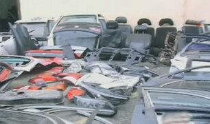 San Luis: incautan autopartes de vehículos robados