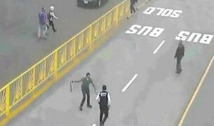 Metropolitano: jefe de seguridad se pronunció sobre incidente en estación