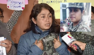 Continúa búsqueda de joven militar desaparecida