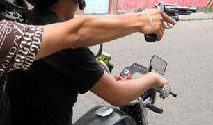 Autoridades allanan guarida de ladrones de motos en Piura