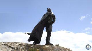 Este es el traje de Batman que logró un récord Guinness