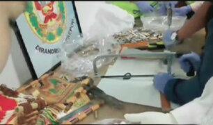 Cusco: detienen a ciudadano mexicano con droga en artesanías