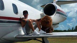 Avión privado en que viajaban J Balvin y su familia se estrelló en Las Bahamas
