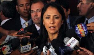 Nadine Heredia criticó a PPK por no plantear cuestión de confianza por Jaime Saavedra