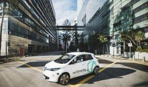 Singapur pone a prueba el primer servicio de taxis sin conductor