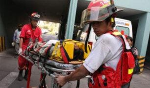 Arequipa: cuatro obreros heridos tras derrumbe en obra