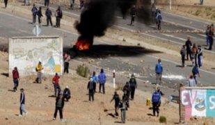 Bolivia: más de 40 mineros detenidos tras asesinato de viceministro