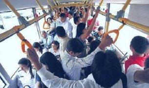Peleas en buses y estaciones del Metropolitano