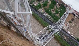 Callao: aclaran que puente colapsado no era de uso peatonal