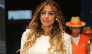 Milett Figueroa evita pronunciarse sobre video íntimo