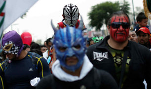 México: luchadores peregrinan en homenaje a la Virgen de Guadalupe