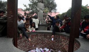 Centro de Lima: fieles visitan santuario de Santa Rosa