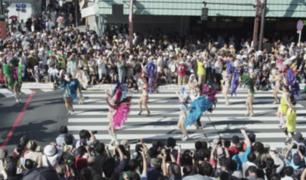 Japón también tiene su carnaval de samba