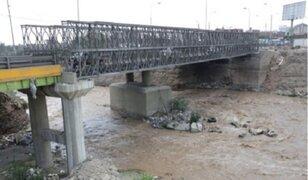Contraloría exhortó a MML a terminar obras en puente Bella Unión y Av. Morales Duárez
