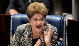 Brasil: Senado define futuro político de Dilma Rousseff