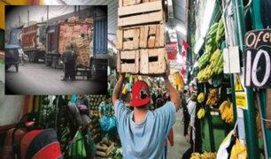 Mercado de Frutas: malestar de vendedores por comercio exterior informal