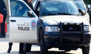 EEUU: policía rocía con gas pimienta a anciana