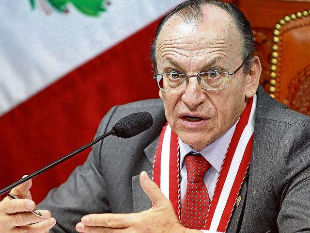 Ministerio Público cesó a José Peláez Bardales por límite de edad