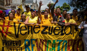 Venezuela: miles protestarán contra gobierno de Maduro