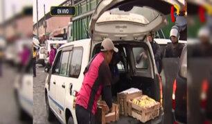 La Victoria: retiran vendedores ambulantes de exteriores del Mercado de Frutas