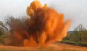 YouTube: Impactante caza con explosivos a una manada de jabalíes en EEUU [VIDEO]