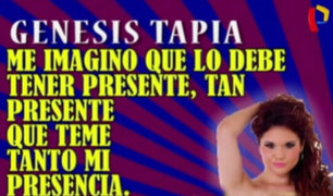 ¿Génesis Tapia le guarda un terrible secreto a Michelle Soifer?