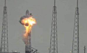 Prueba de lanzamiento en la NASA casi termina en tragedia tras explosión