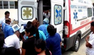 Niño de tres años muere arrollado por camión de su padre en Andahuaylas