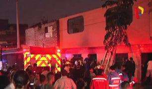 Callao: hombre muere tras rescatar a sus hijos en incendio