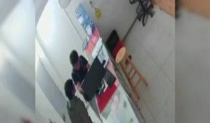 Cajamarca: falsos pacientes roban en clínica
