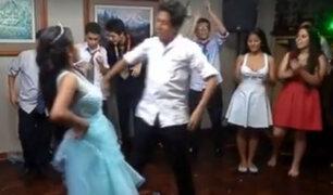 Quinceañera bailando marinera en su fiesta es viral en Facebook