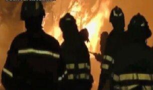 Columnas de fuego consumen cientos de hectáreas en España