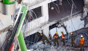 Derrumbe de edificio deja dos muertos en Israel