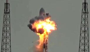 YouTube: Video muestra un supuesto OVNI en explosión de cohete Falcon 9 [VIDEO]
