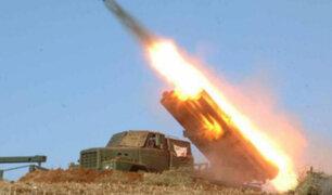 Corea del Norte lanza tres misiles al mar de Japón