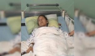 Hospital María Auxiliadora: se recupera joven embarazada que fue baleada por sicario